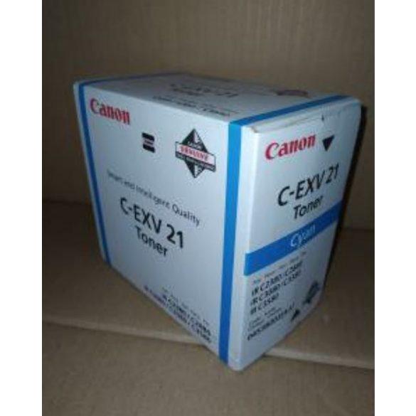Canon C-EXV 21 toner Cyan (Eredeti) 0453B002