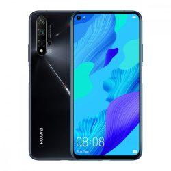 Huawei Nova 5T 128GB DualSIM Mobiltelefon Fekete színben
