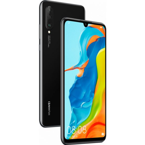 Huawei P30 Lite (256) fekete