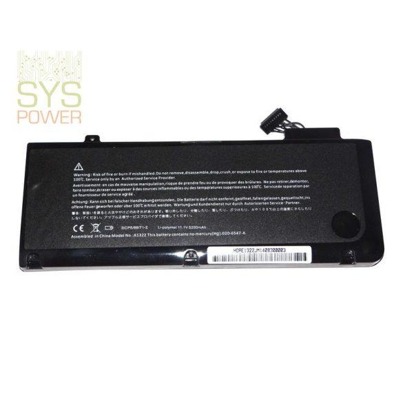Apple A1322 laptop akkumulátor (Utángyártott)