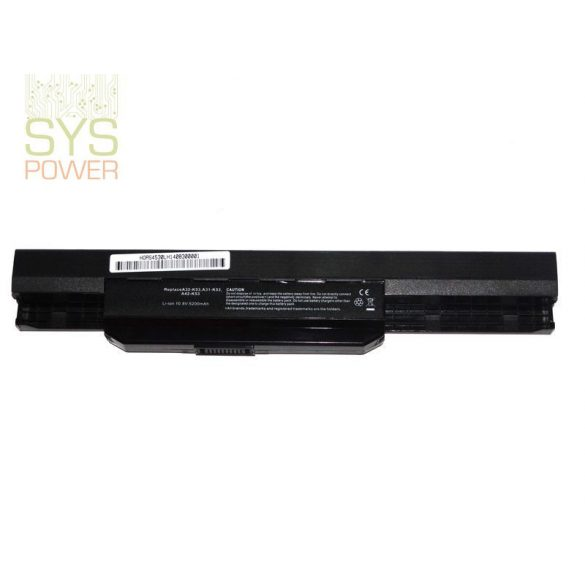 Asus A32-K53 laptop akkumulátor (Utángyártott)