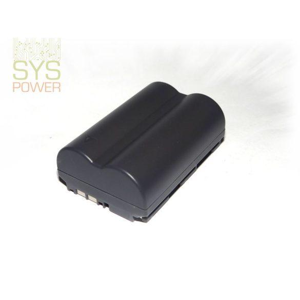 Canon BP-511, 1700 mah, 7,4 V akkumulátor (Utángyártott)