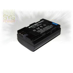 Canon LP-E6, 1800 mah, 7,4 V akkumulátor (Utángyártott)