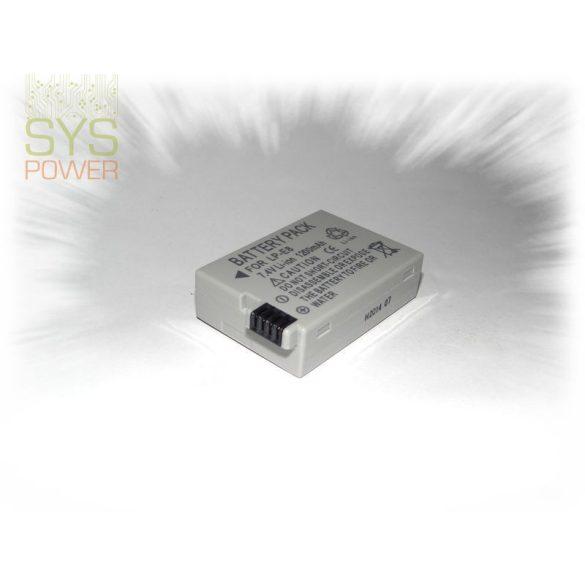 Canon LP-E8, 1200 mah, 7,4 V akkumulátor (Utángyártott)