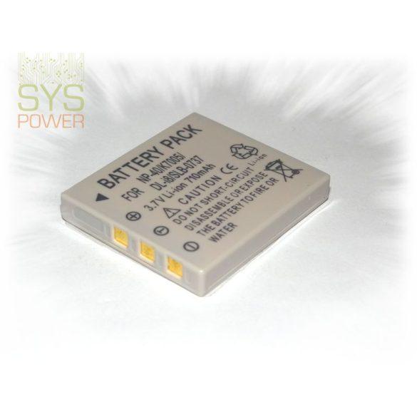 Fuji NP-40 , 710 mah, 3,7 V akkumulátor (Utángyártott)