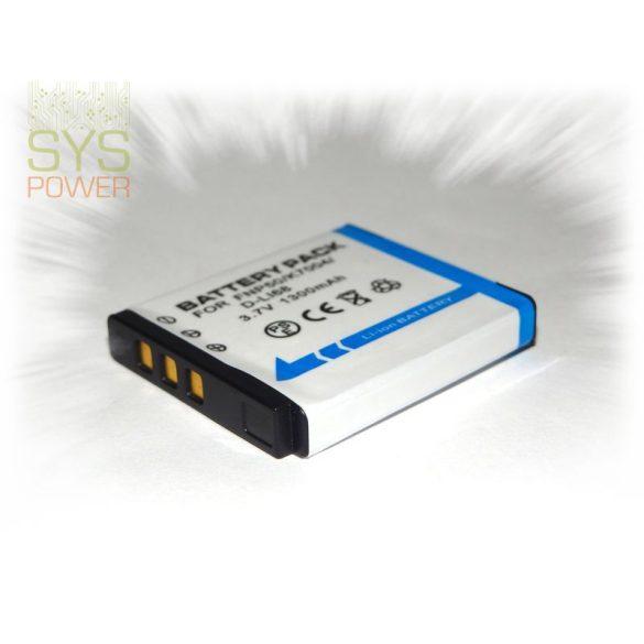Fuji NP-50, 1300 mah, 3,7 V akkumulátor (Utángyártott)