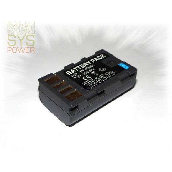 JVC BN-VG808, 800 mah, 7,4 V akkumulátor (Utángyártott)