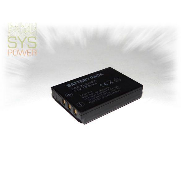 Kodak DB-L50, 1800 mah, 3,7 V akkumulátor (Utángyártott)