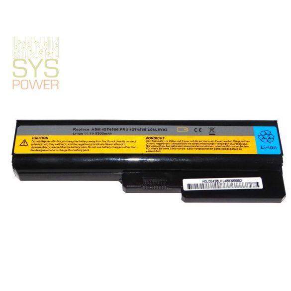Lenovo 42T4585 laptop akkumulátor (Utángyártott)