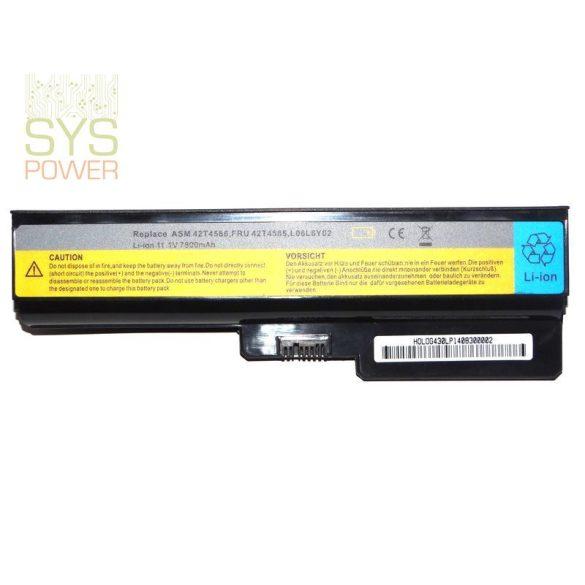 Lenovo 42T4586 laptop akkumulátor (Utángyártott)