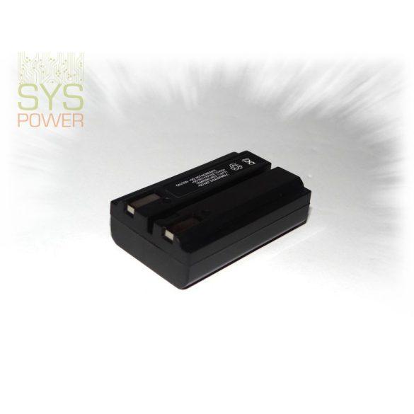 Nikon EN-EL1, 850 mah, 7,4 V akkumulátor (Utángyártott)