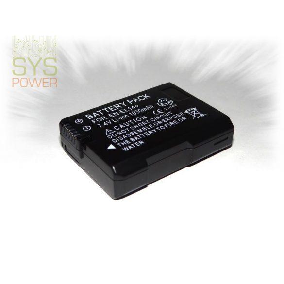 Nikon EN-EL14 , 1030 mah, 7,4 V akkumulátor (Utángyártott)