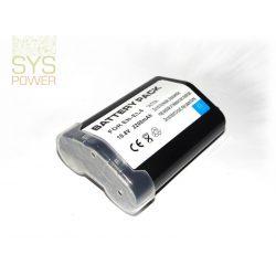 Nikon EN-EL4 , 2200 mah, 10,8 V akkumulátor (Utángyártott)
