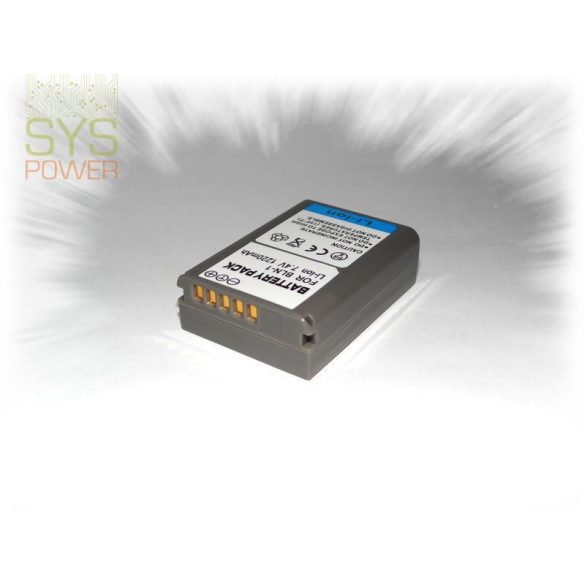 Olympus PS-BLN1 , 1220 mah, 7,4 V akkumulátor (Utángyártott)