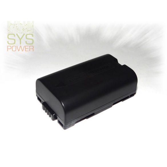Panasonic CGR-D08, 1300 mah, 7,4 V akkumulátor (Utángyártott)