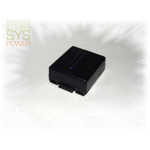 Panasonic CGR-DU07, 1000 mah, 7,4 V akkumulátor (Utángyártott)