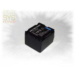 Panasonic CGR-DU14, 1400 mah, 7,4 V akkumulátor (Utángyártott)