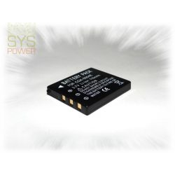 Panasonic CGA-S004, 710 mah, 3,7 V akkumulátor (Utángyártott)