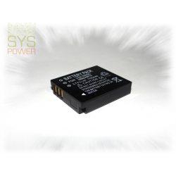 Panasonic CGA-S005 , 1150 mah, 3,7 V akkumulátor (Utángyártott)