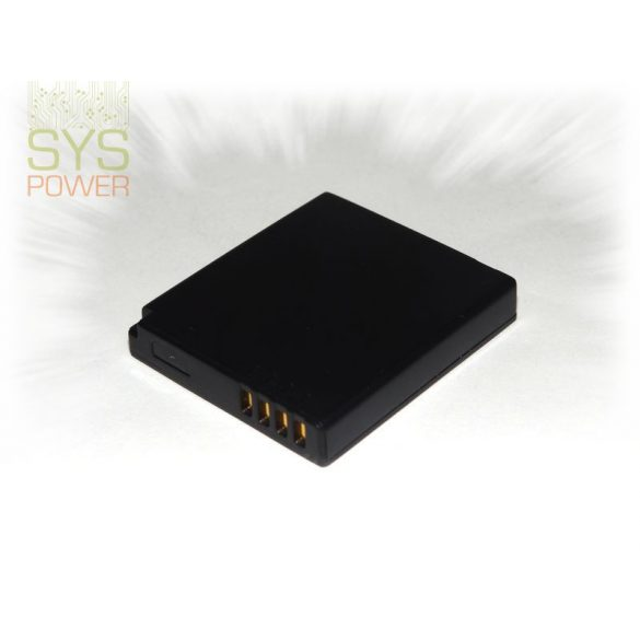 Panasonic DMW-BCF10 , 940 mah, 3,7 V akkumulátor (Utángyártott)