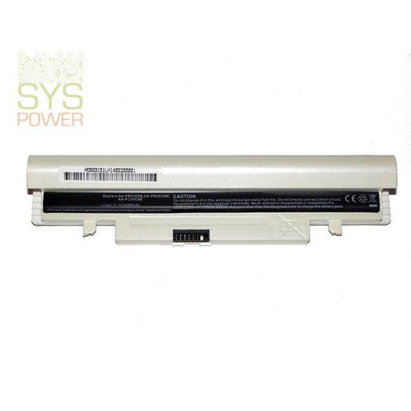 Samsung AA-PL2VC6W laptop akkumulátor Fehér (Utángyártott)