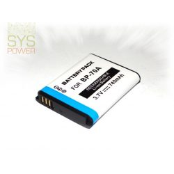Samsung BP-70A [EA-BP70A], 740 mah, 3,7 V akkumulátor (Utángyártott)