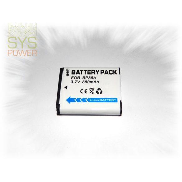 Samsung BP88A, 880 mah, 3,7 V akkumulátor (Utángyártott)