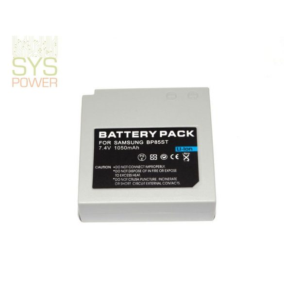 Samsung IA-BP85ST, 1050 mah, 7,4 V akkumulátor (Utángyártott)