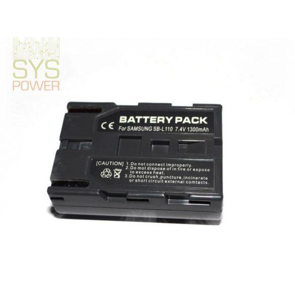 Samsung SB-L110, 1300 mah, 7,4 V akkumulátor (Utángyártott)