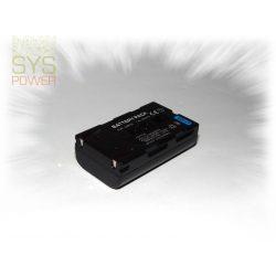 Samsung SB-LSM80, 850 mah, 7,4 V akkumulátor (Utángyártott)