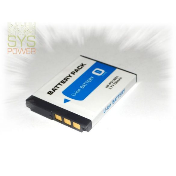 Sony NP-FD1, 750 mah, 3,7 V akkumulátor (Utángyártott)
