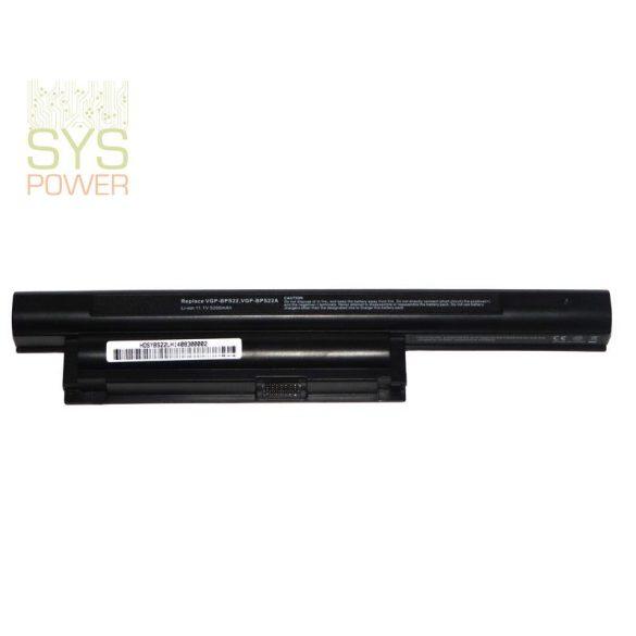 Sony VGP-BPS22 laptop akkumulátor (Utángyártott)