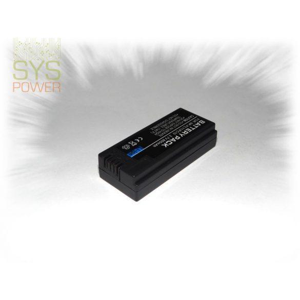 Sony NP-FC10, 1100 mah, 3,7 V akkumulátor (Utángyártott)