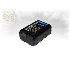 Sony NP-FW50, 1080 mah, 7,4 V akkumulátor (Utángyártott)