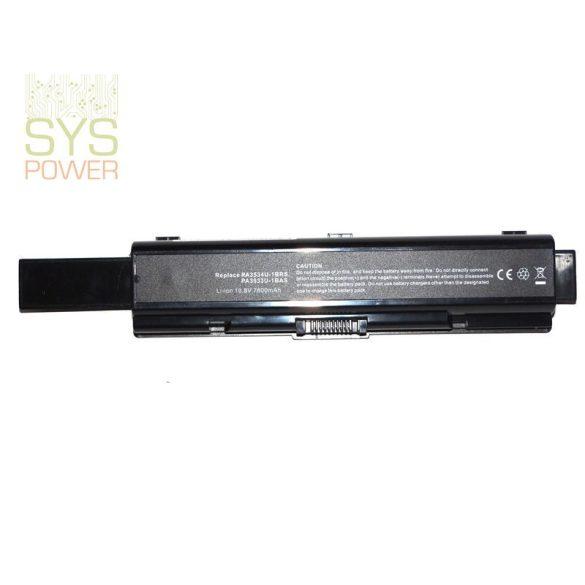 Toshiba PA3535U laptop akkumulátor (Utángyártott)